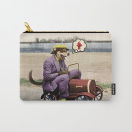 Barkin' Down the Highway! Carry-All Pouch