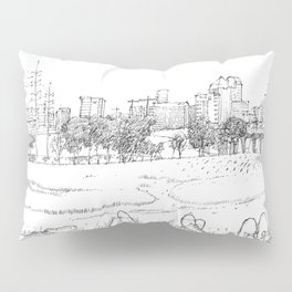 Trinity Bank with friends Pillow Sham