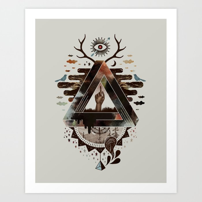 All Impossible Eye Art Print