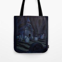 Sleepy Hollow Churchyard Cemetery Tote Bag