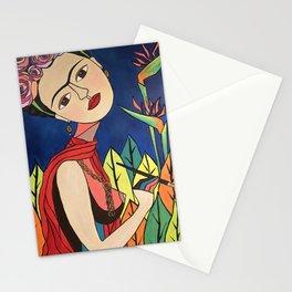 Frida Khalo Painting Stationery Cards
