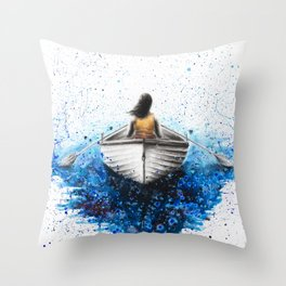 Finding Me Throw Pillow