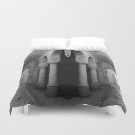 Corridors of confusion Duvet Cover