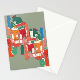 body interaction Stationery Cards