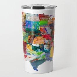 USA Map Travel Mug