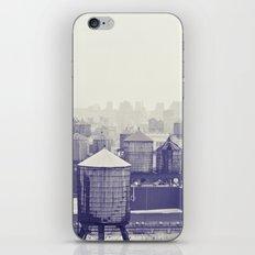 foggy memories of nyc... iPhone & iPod Skin