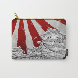 Japanese Palace and Sun Carry-All Pouch