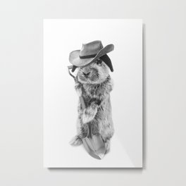 JOHNNY CARRO Metal Print