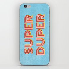 Super-Duper iPhone & iPod Skin