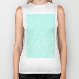 Mint Pattern #3 #Granite #Speckles #decor #art #society6 Biker Tank