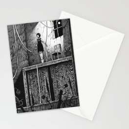 Puppet Theatre Stationery Cards