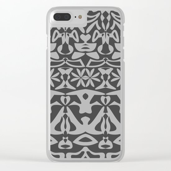 Pattern #40 Clear iPhone Case