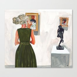 Museum Dreads Canvas Print