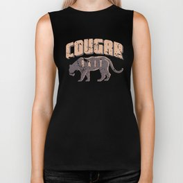 Cougar Bait Funny Team Jersey On the Prowl Biker Tank