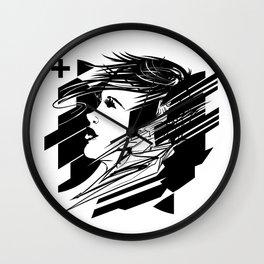 Digital Daze Wall Clock