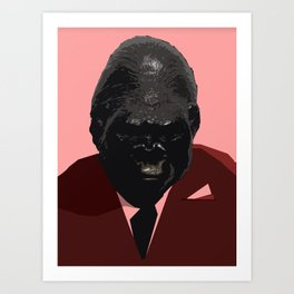 Sir Gorilla Art Print