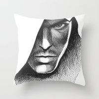 assassins creed Throw Pillows featuring Assassins Creed by Renus3000