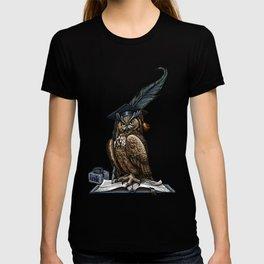 Genius owl T-shirt