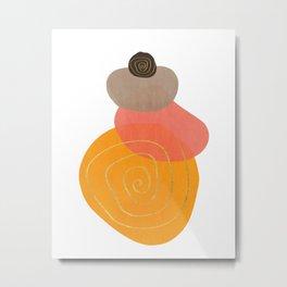 Modern minimal forms 32 Metal Print