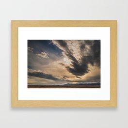 Big Sky, I miss you. Framed Art Print