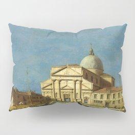 Venice - S. Pietro in Castello by Canaletto Pillow Sham