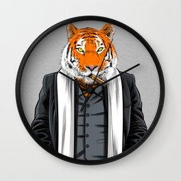 Mafia tiger Wall Clock