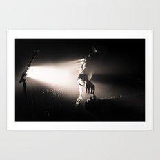 Live Music - Cut Copy Art Print