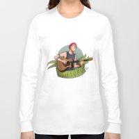 michael clifford Long Sleeve T-shirts featuring CLIFFORD by gabitozati