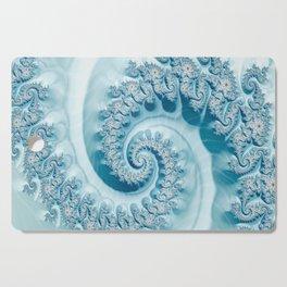 Blue Ammonite Cutting Board