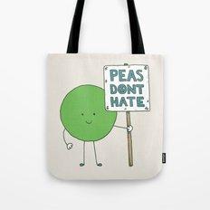 Let's Get Along Tote Bag