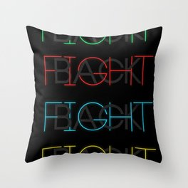 Fight Back Throw Pillow