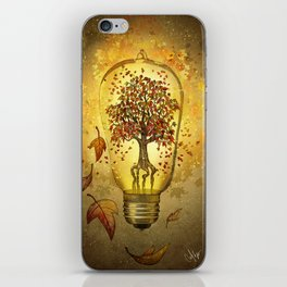 Autumn light iPhone Skin