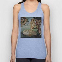 The Birth of Venus (Nascita di Venere) by Sandro Botticelli Unisex Tank Top