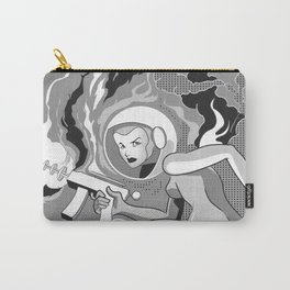 Space Girl with a Gun Carry-All Pouch