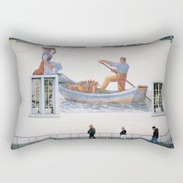Zurich Truman Show Rectangular Pillow