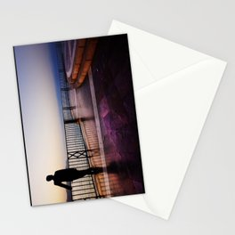 Balcon de Europa silhouette Stationery Cards