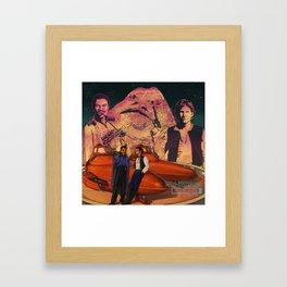 Bespin Vice Framed Art Print