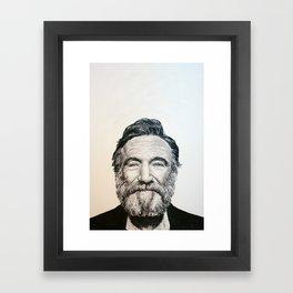 Robin Williams Framed Art Print