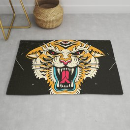 Tiger 3 Eyes Rug