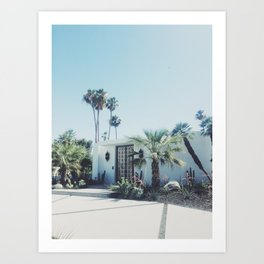 Palm Springs, Via Estrella Art Print