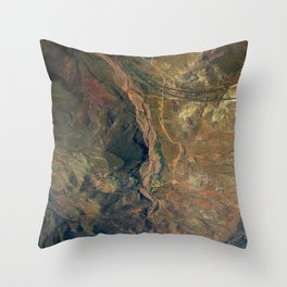 Landscape Photography by Davide Colonna Throw Pillow