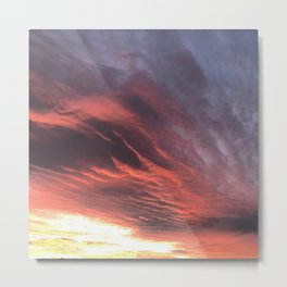 That Once in a Lifetime Sunset Metal Print