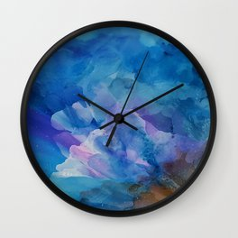 Bloom Up Abstract Wall Clock