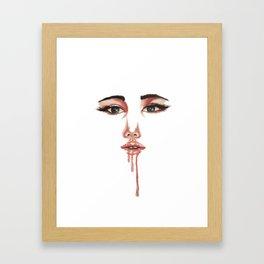 Melt Me Framed Art Print