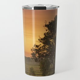 Sunset Fields Travel Mug