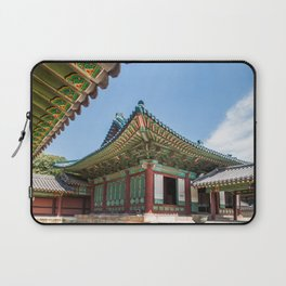 Blue Tile Roof, Changdeokgung Palace, Seoul Laptop Sleeve