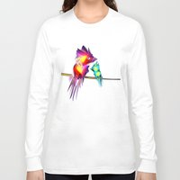 phoenix Long Sleeve T-shirts featuring Phoenix by Irmak Akcadogan
