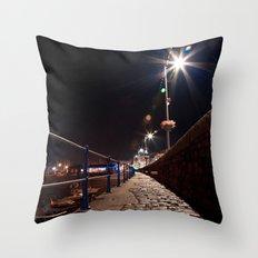 Guernsey Night Path Throw Pillow