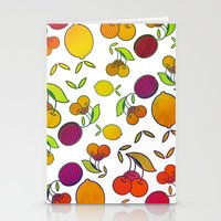 fruits Stationery Cards featuring Fruits by VessDSign
