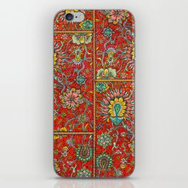 Bursts of India Jacobean - Victorio Road Series iPhone Skin